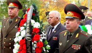 100-летие Иркутско-Пинской дивизии отметили в Пинске - фото