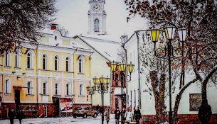 Первый снег в Беларуси: 26 октября в Витебске - фото