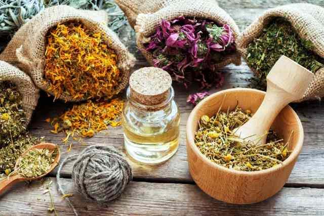 Как избавиться от головной боли - лечение травами - фото