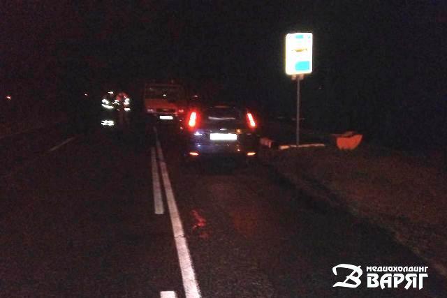 Легковушка переехала лежавшего на дороге мужчину в Пинском районе - фото