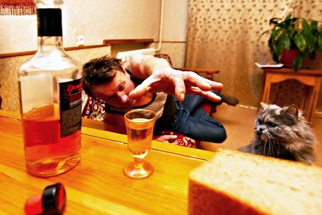 найти управу на алкоголика - фото