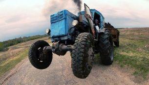 Пинский район. У тракториста в 9 утра обнаружили 3,1 промилле алкоголя