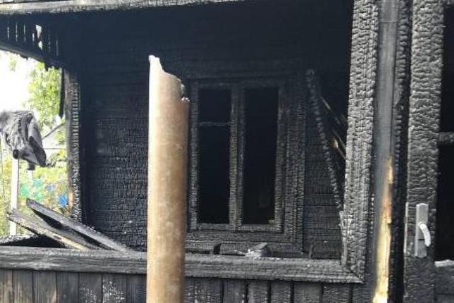Пожар в Пинске - фото