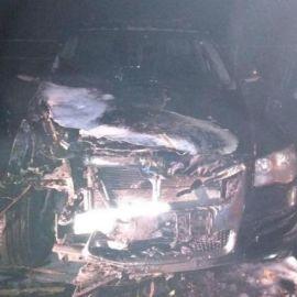 Пожар в автомобиле, два пожара - фото