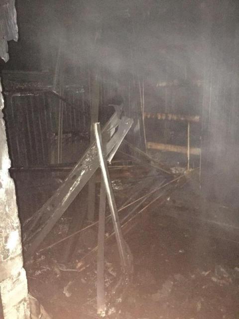 Пожар в бане - фото
