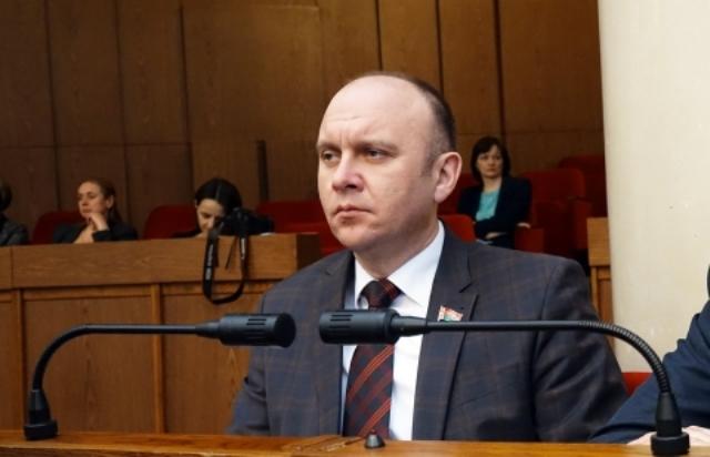 В Пинске новый мэр - Иван Ребковец - фото