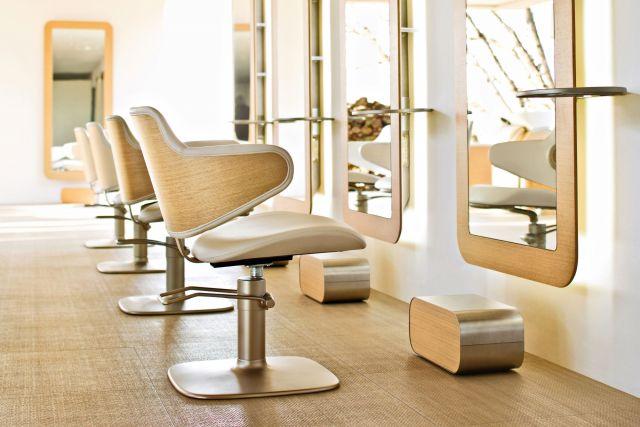 парикмахерское кресло - фото