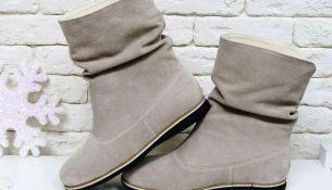 Полусапожки - универсальная обувь для зимы - фото