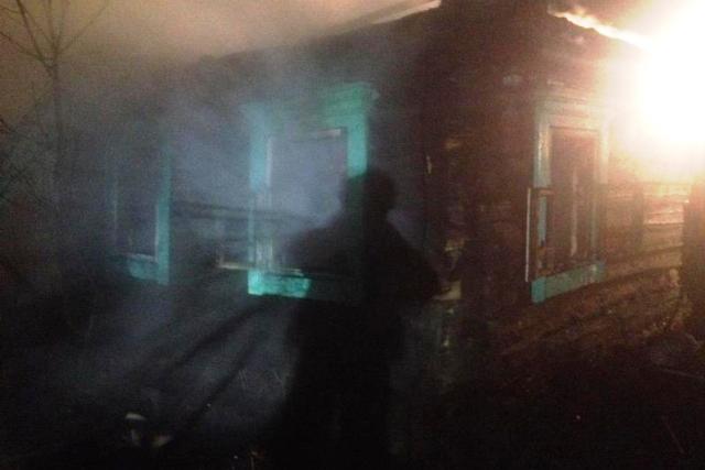 Пожар в Дубново - фото