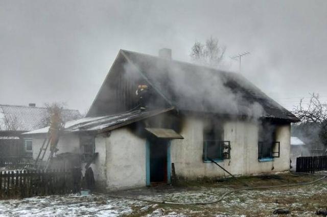 Пинский район: в д. Стошаны на пожаре в собственном доме погиб мужчина - фото