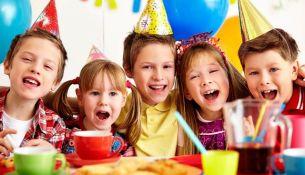 детский праздник - фото