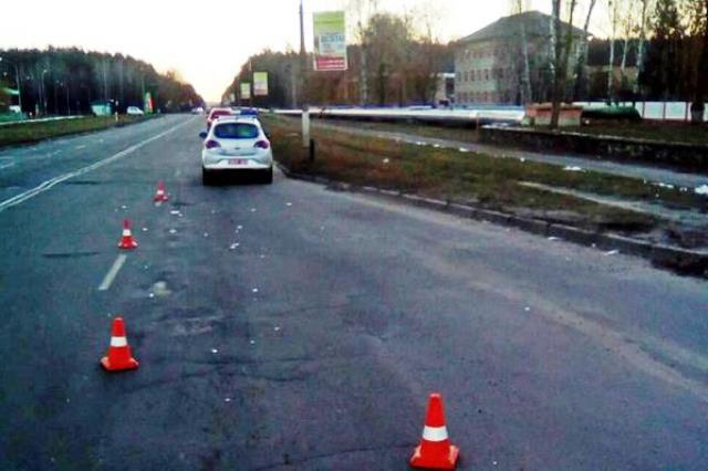 ДТП в Пинске: травмирована пешеход, переходившая дорогу в неположенном месте - фото
