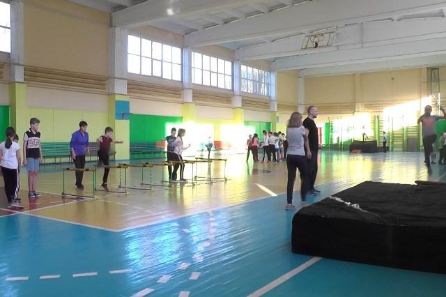 Зал легкой атлетики - фото