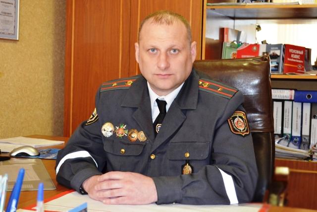 Начальник ОГАИ Пинского РОВД - Голякович - фото