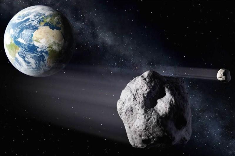 NASA готовит удар по астероиду - фото