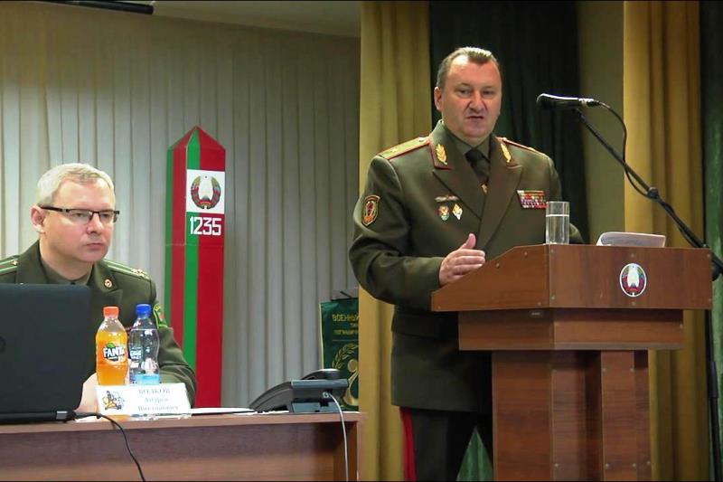 Пинские пограничники подвели итоги работы за 2018 год - фото