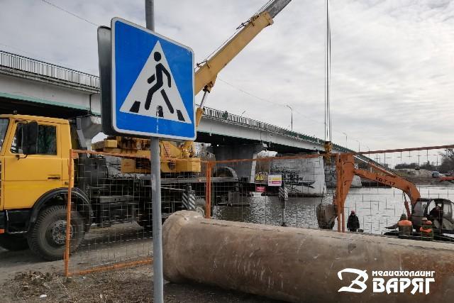 Реконструкция моста - фото