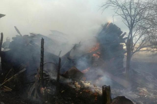 Пожар в Почапово - фото