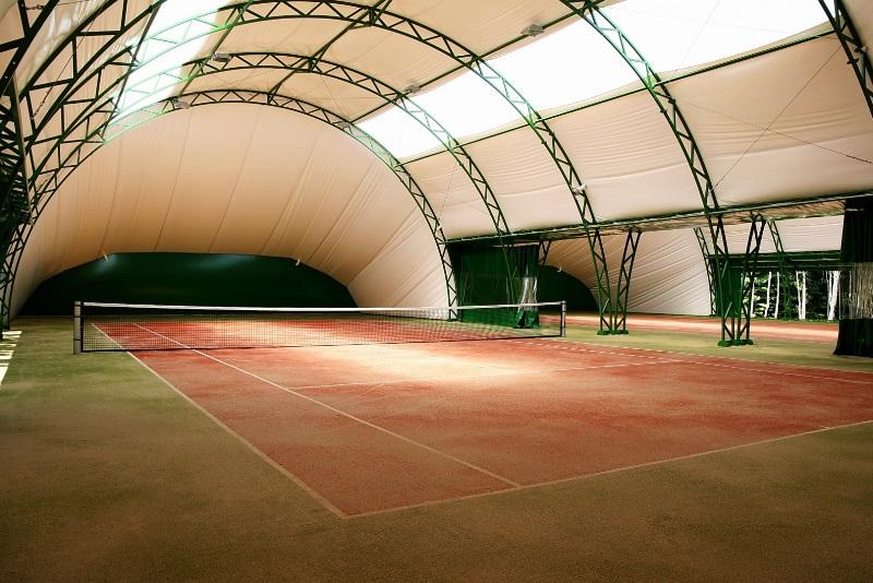 теннисный манеж - фото
