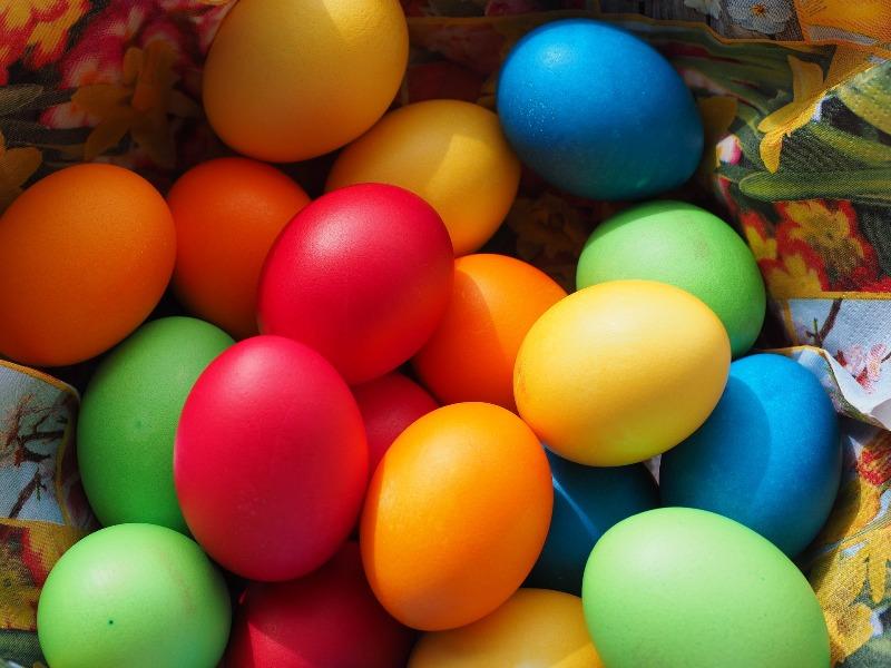 Пасхальные яйца - фото