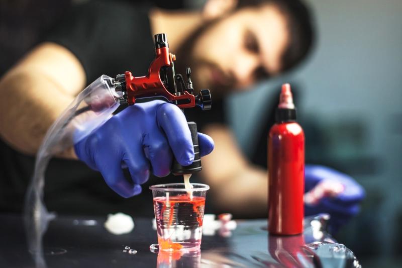 краски для татуировки - фото