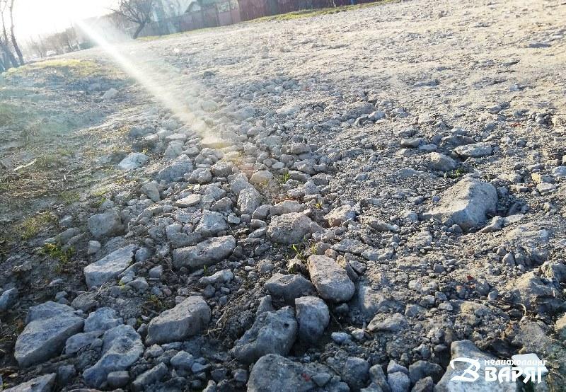 На ул. Ракетной «отремонтировали» дорогу - фото