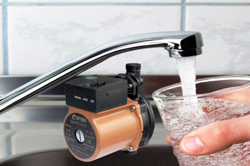 давление воды - фото