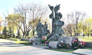 """Памятник """"Партизанам Полесья"""" - фото"""