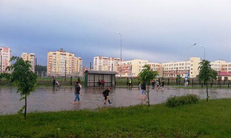 после дождя в Пинске 21 мая - фото