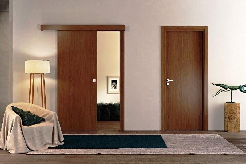Межкомнатные двери из МДФ - фото в интерьере