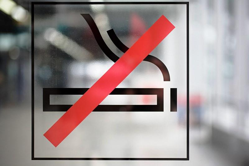 на курение - фото