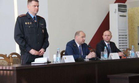 В Пинске назначен новый начальник милиции - фото