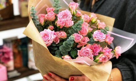 букет роз для избранницы - фото