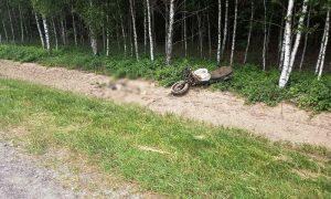 Мотоциклист-бесправник погиб - фото