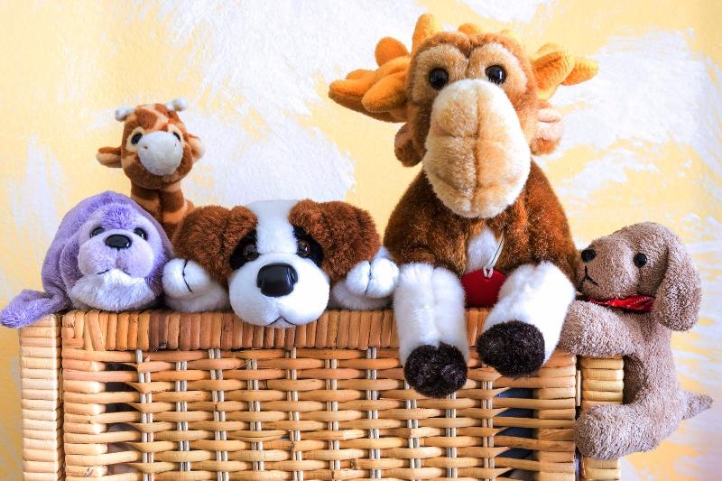 любимые игрушки - фото