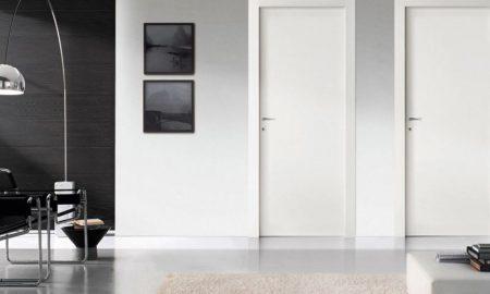 белые двери, изготовление дверей - фото