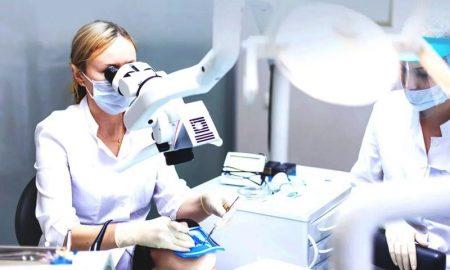 метод лечения зубов под микроскопом - фото