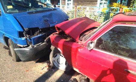 лобовое ДТП в Пинском районе - фото