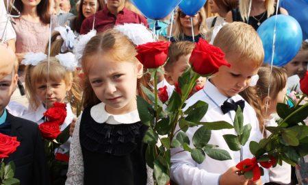 школьные линейки, Пинск - фото