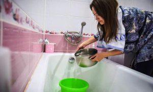 Временное отключение горячей воды - фото