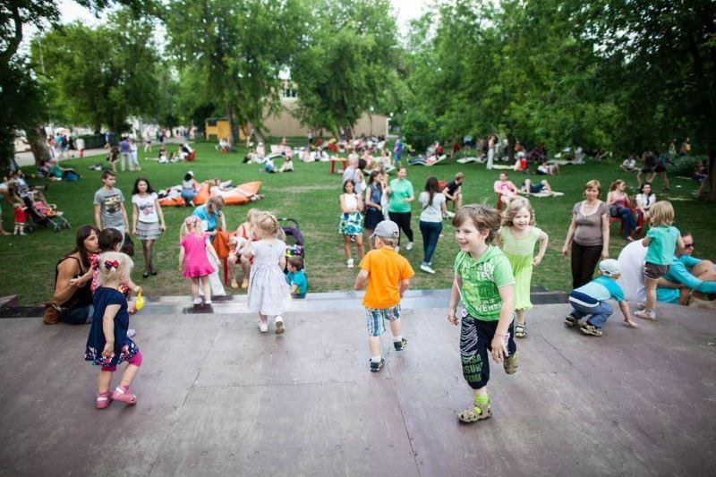 Семейный досуг с детьми в Москве - фото