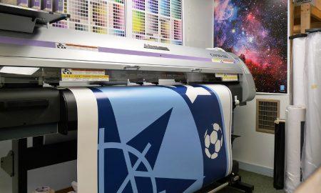 о широкоформатной печати - фото, плоттер