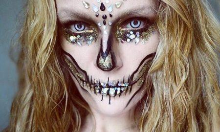 Лайфхак на Хэллоуин: контактные линзы - фото
