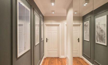 увеличить ширину узкого коридора - фото