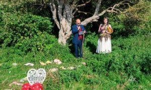 вышла замуж за дерево - фото