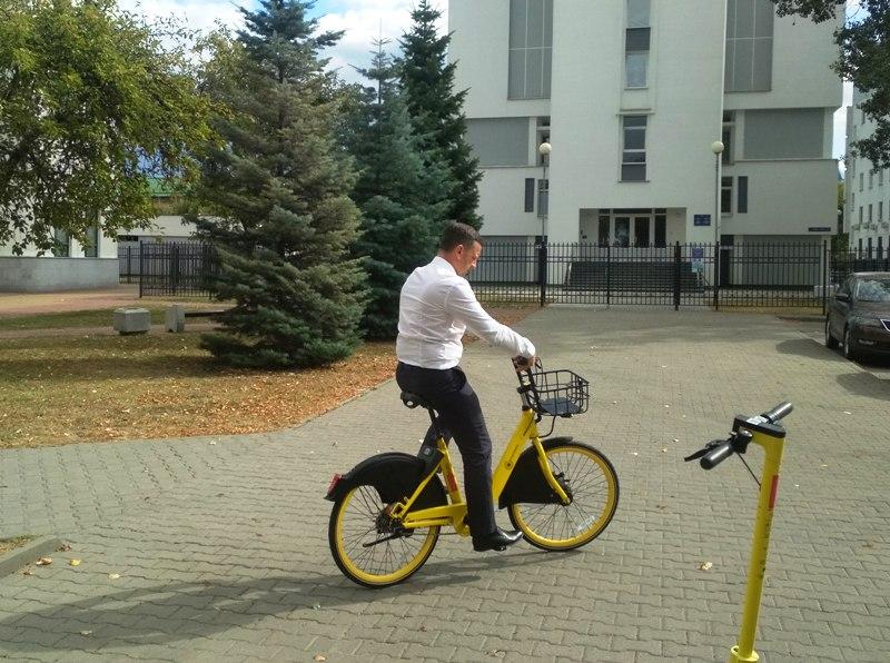 Велошеринг - фото