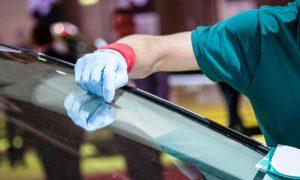 Замена лобовых стекол - фото