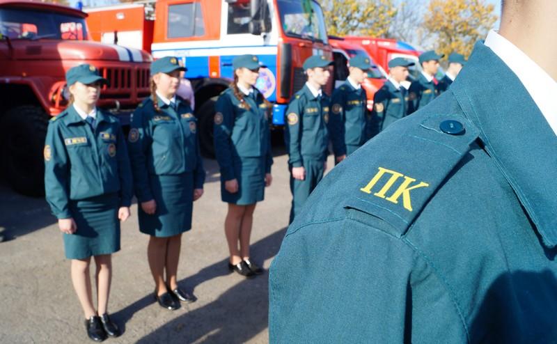 Присяга кадетов МЧС - фото