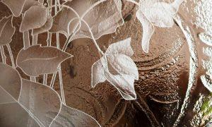 пескоструйная обработка стекла - фото