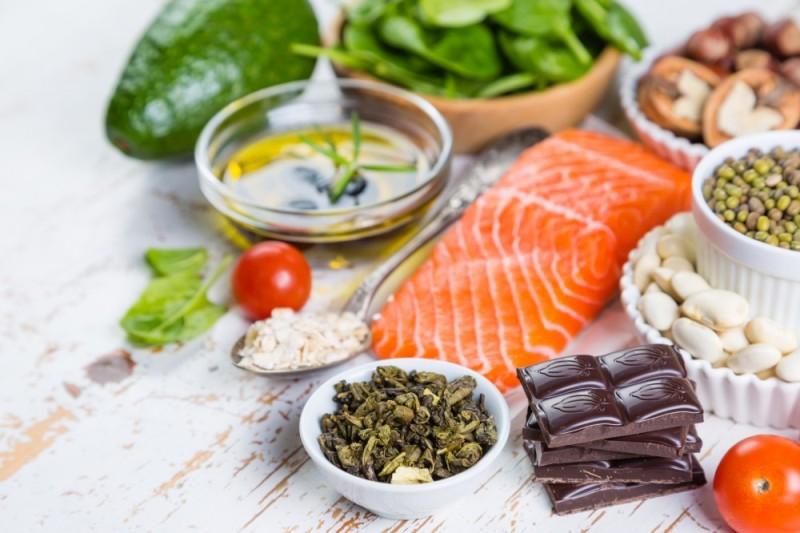 Здоровые продукты - фото